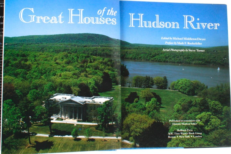 Great Houses of the Hudson River. Boston: Bulfinch Press, 2003. Stated first edition 2nd printing hardcover with dust jacket. 208 pp. A beautiful coffee table book on the great estates of the Hudson River Valley. It includes fine examples of