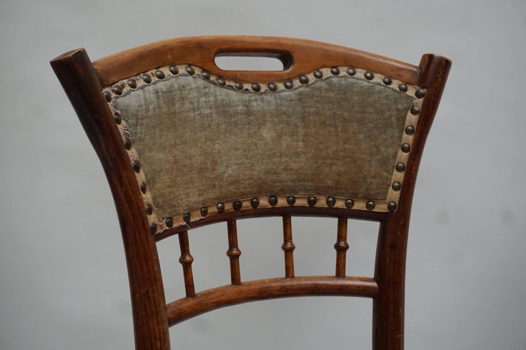 Great Set of 40 Art Nouveau Chairs, circa 1900 For Sale 4