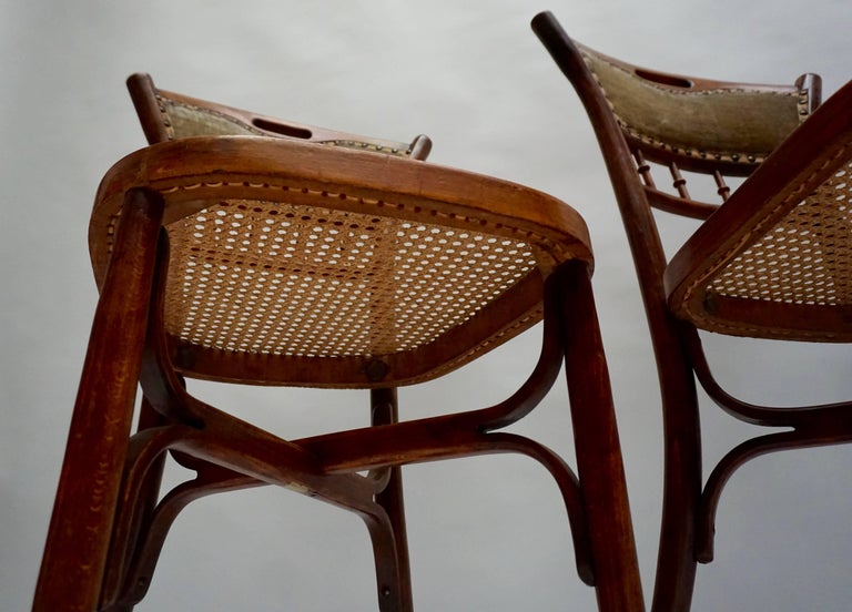 Great Set of 40 Art Nouveau Chairs, circa 1900 For Sale 2