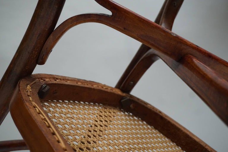 Great Set of 40 Art Nouveau Chairs, circa 1900 For Sale 3