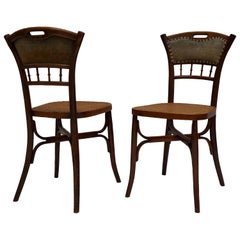 Great Set of 40 Art Nouveau Chairs, circa 1900