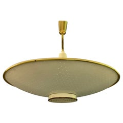Great Uplight / Downlight Ceiling Lamp Attributed to Paavo Tynell