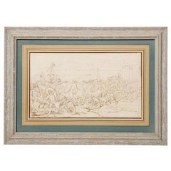 Greco Roman style Drawing/Etching