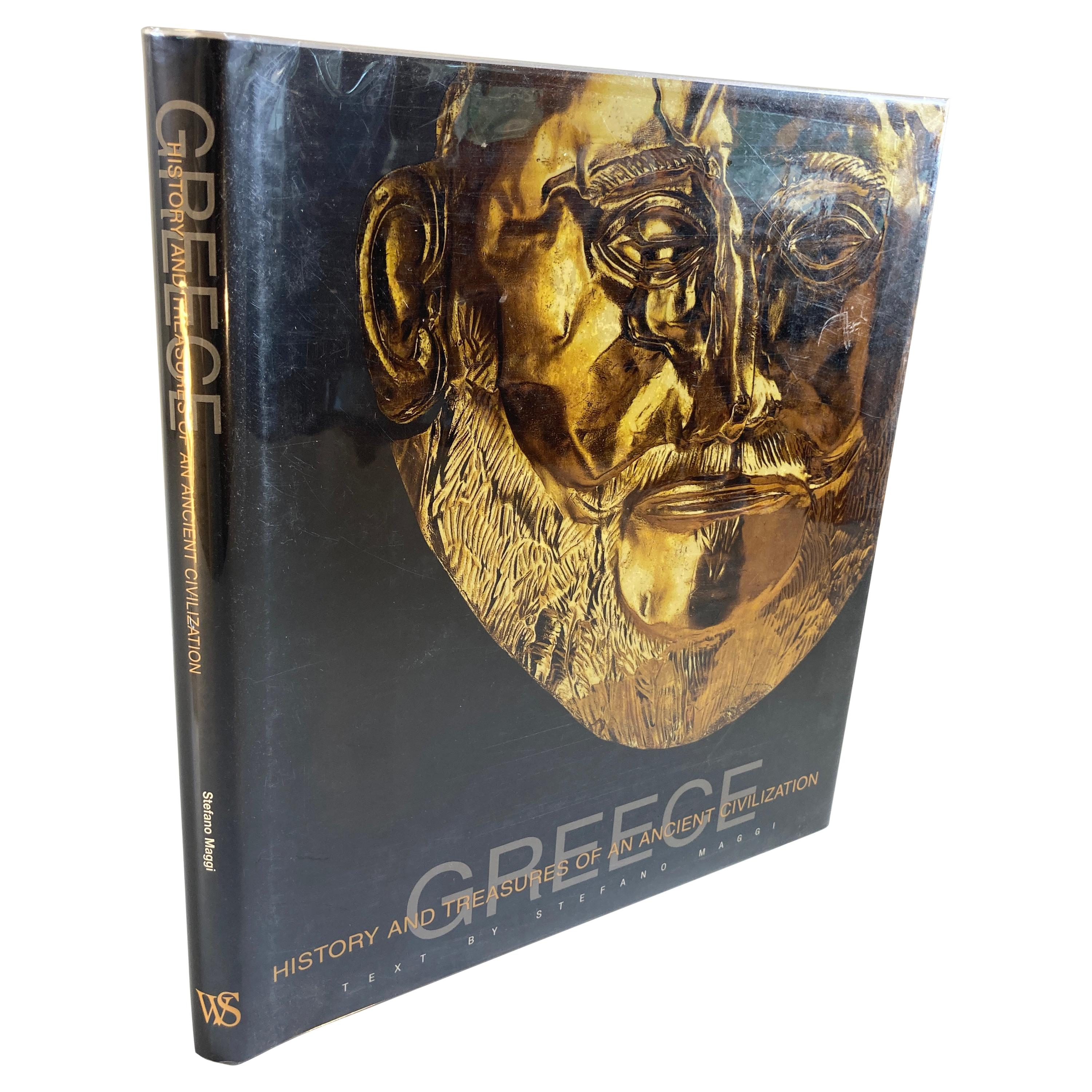 Greece History and Treasures of an Ancient Civilization Hardcover Book