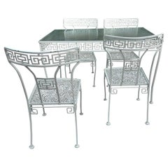 Greek Key Dining Table in Iron by Meadowcraft