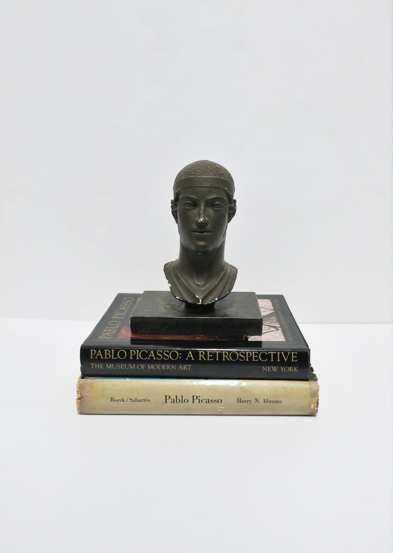Greek or Roman Head Bust Sculpture, 1965 For Sale 3