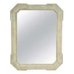 Green and Ivory Wash Mirror by Iris Apfel