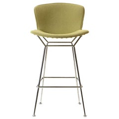 1950s Green Barstool by Harry Bertoia for Knoll