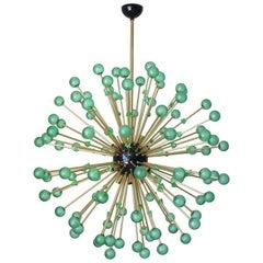Green Burst Murano Sputnik