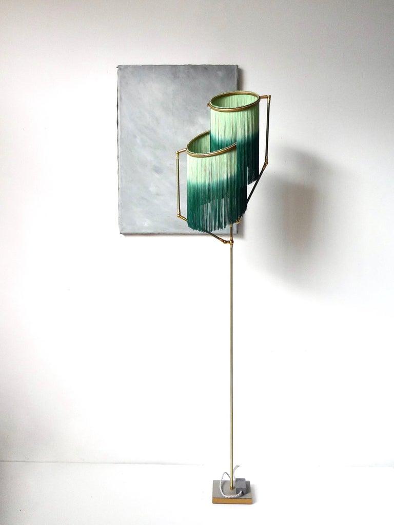 Post-Modern Green Charme Floor Lamp, Sander Bottinga For Sale