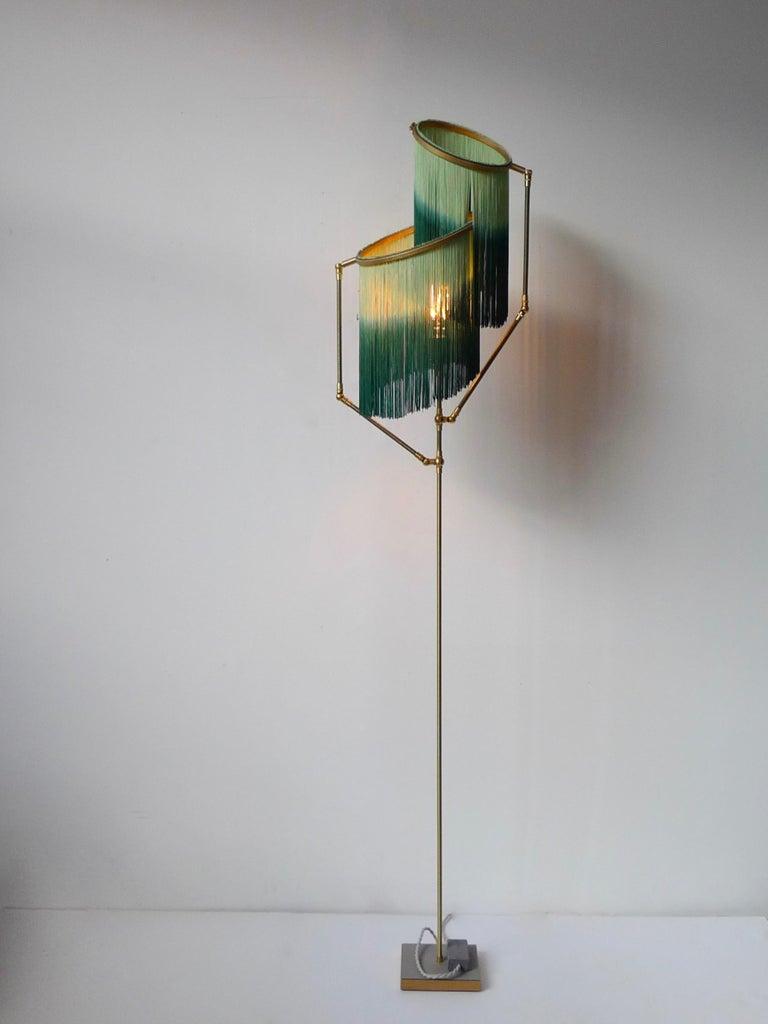 Dutch Green Charme Floor Lamp, Sander Bottinga For Sale