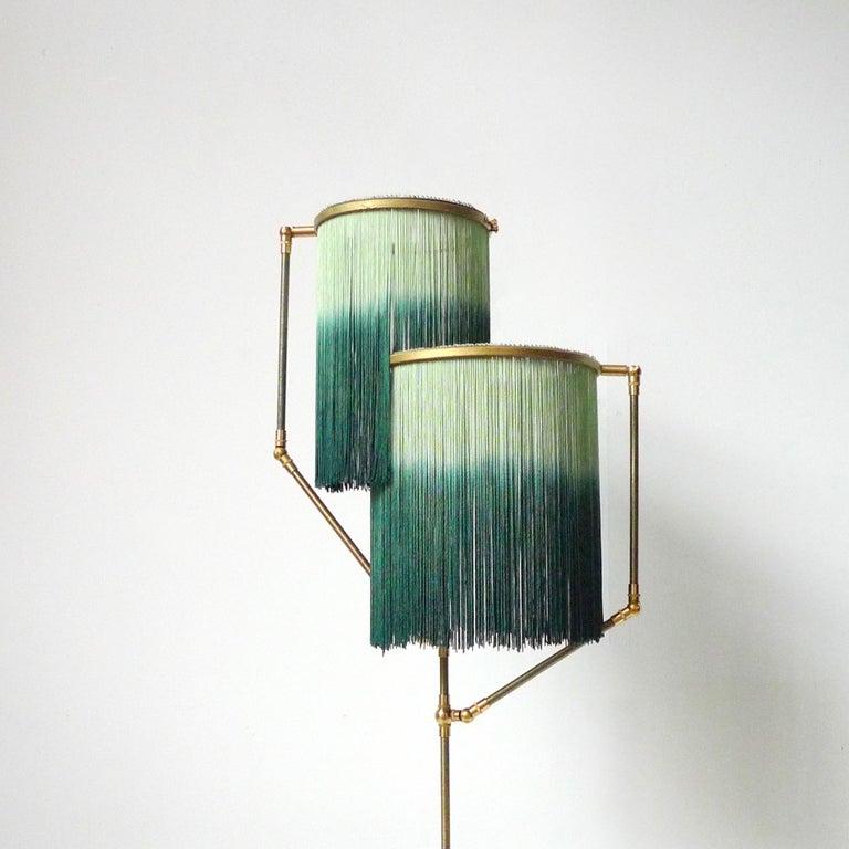 Green Charme Floor Lamp, Sander Bottinga For Sale 1