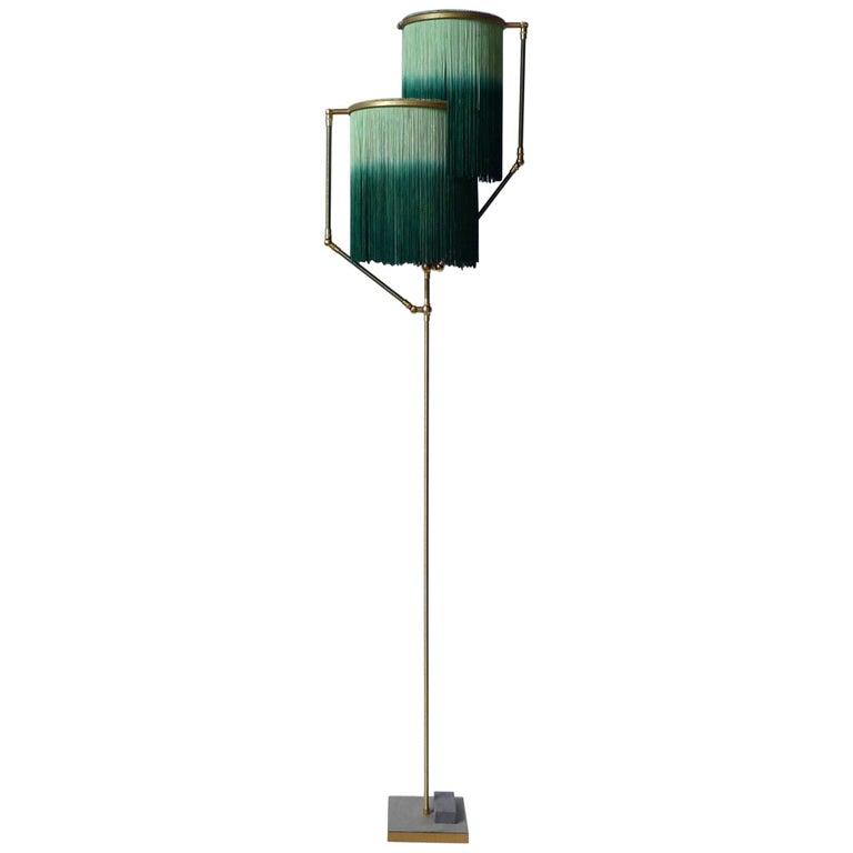 Green Charme Floor Lamp, Sander Bottinga For Sale