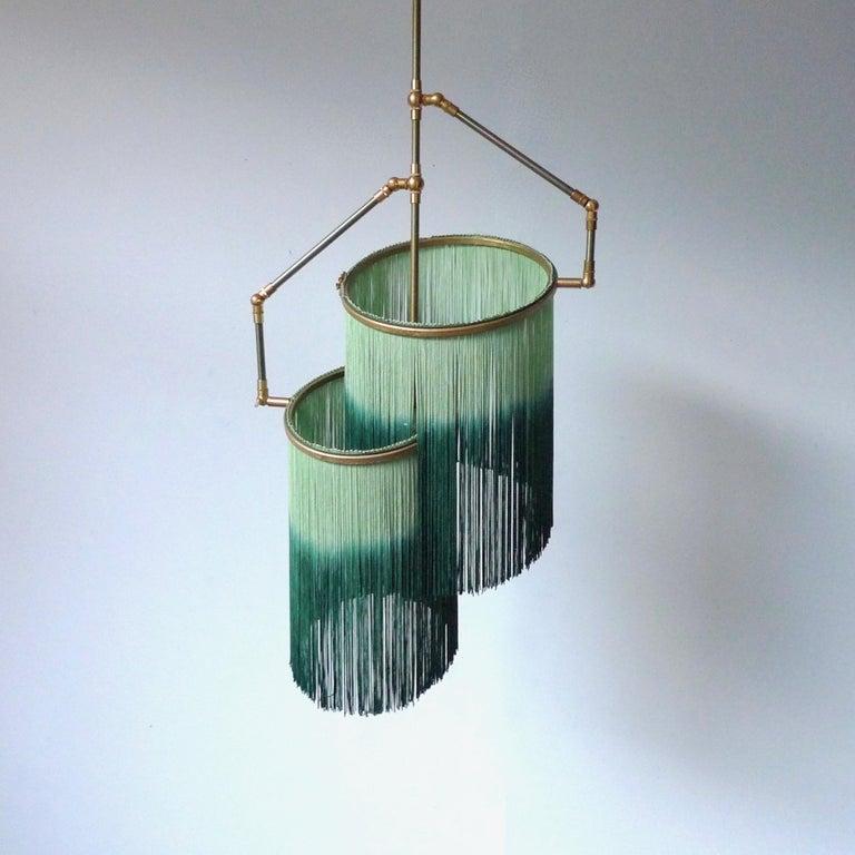 Post-Modern Green Charme Pendant Lamp, Sander Bottinga For Sale