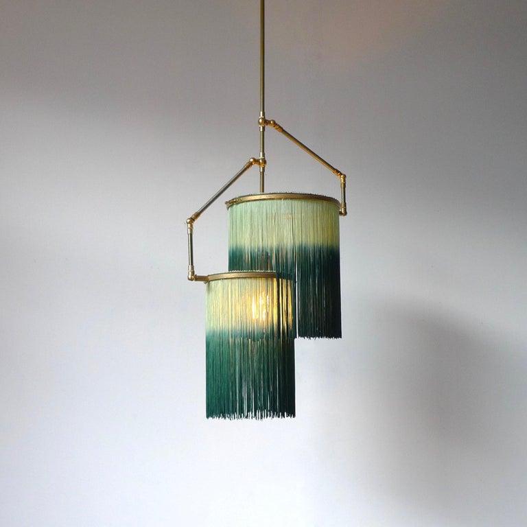 Green Charme Pendant Lamp, Sander Bottinga In New Condition For Sale In Collonge Bellerive, Geneve, CH
