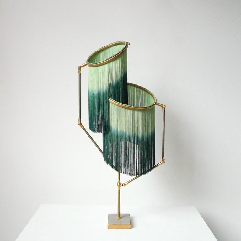 Green charme table lamp, Sander Bottinga