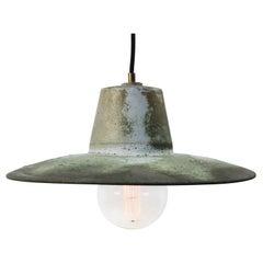 Green Copper Vintage Industrial Factory Pendant Lights