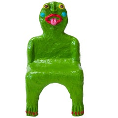 Green Creature Child Chair by Brett Douglas Hunter, USA, 2018