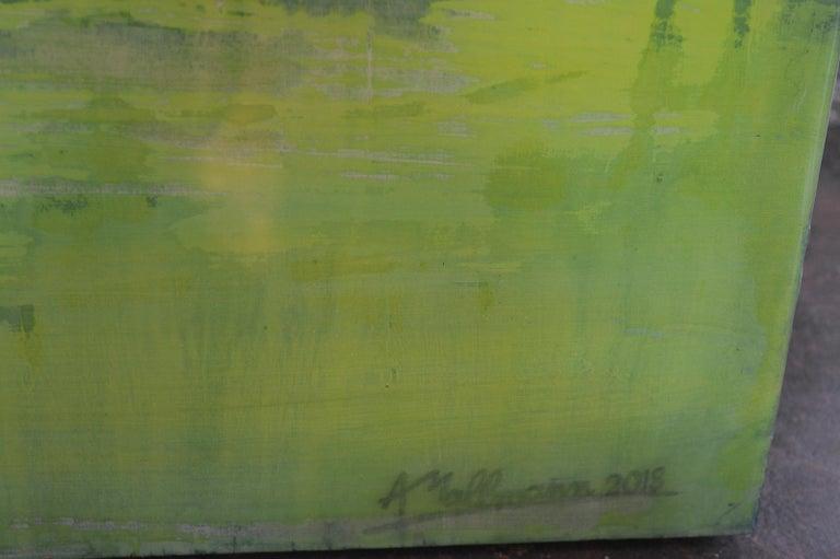 Acrylic Green Dream by Arturo Mallmann For Sale