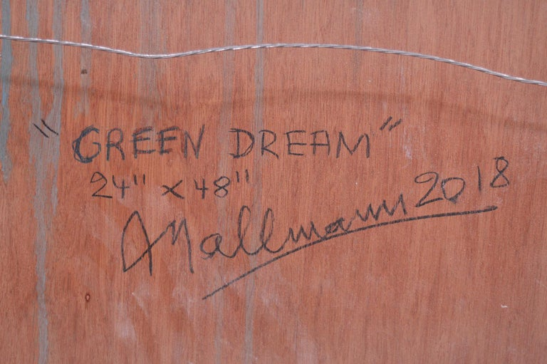 Green Dream by Arturo Mallmann For Sale 1