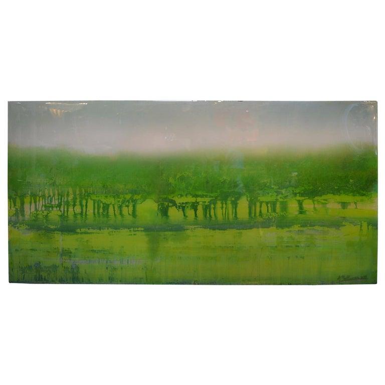 Green Dream by Arturo Mallmann For Sale