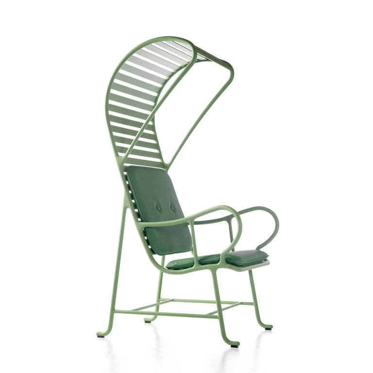 Modern Green Gardenias Armchair with Pergola, Outdoor by Jaime Hayon