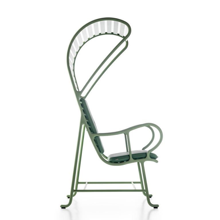 Spanish Green Gardenias Armchair with Pergola, Outdoor by Jaime Hayon