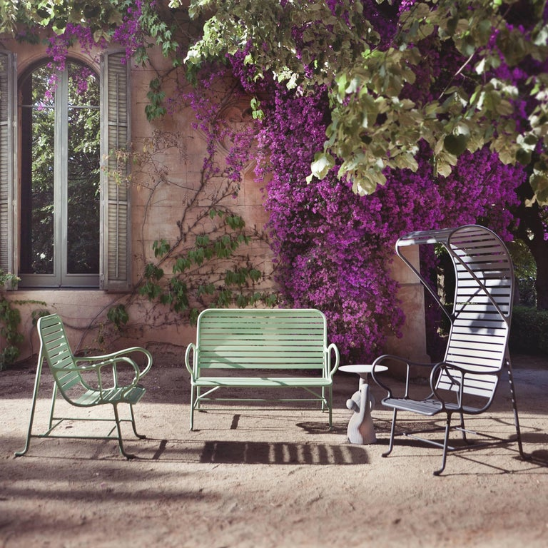 Green Gardenias Armchair with Pergola, Outdoor by Jaime Hayon 1