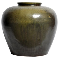Green Glazed Pot