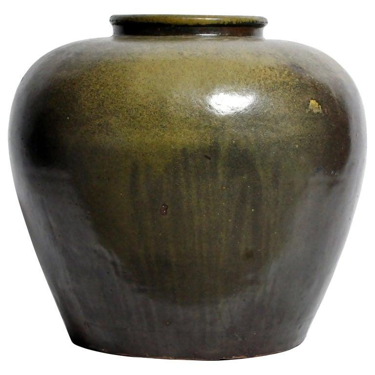 Green Glazed Pot For Sale