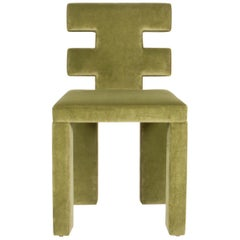 Green H-Chair by Estudio Persona