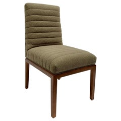 Green Highback Shoreland Chair by Brian Paquette for Lawson-Fenning, In Stock