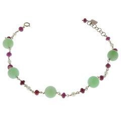Pearl Chain Bracelets