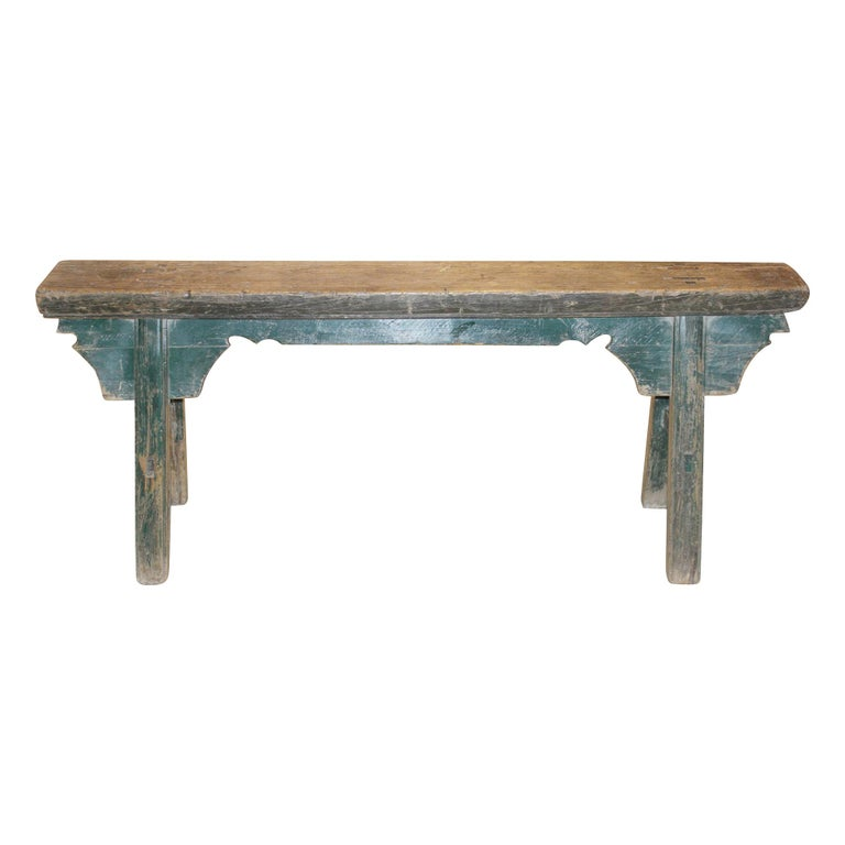 Green Kung Fu Bench For Sale