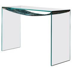Green Leaves Console Table