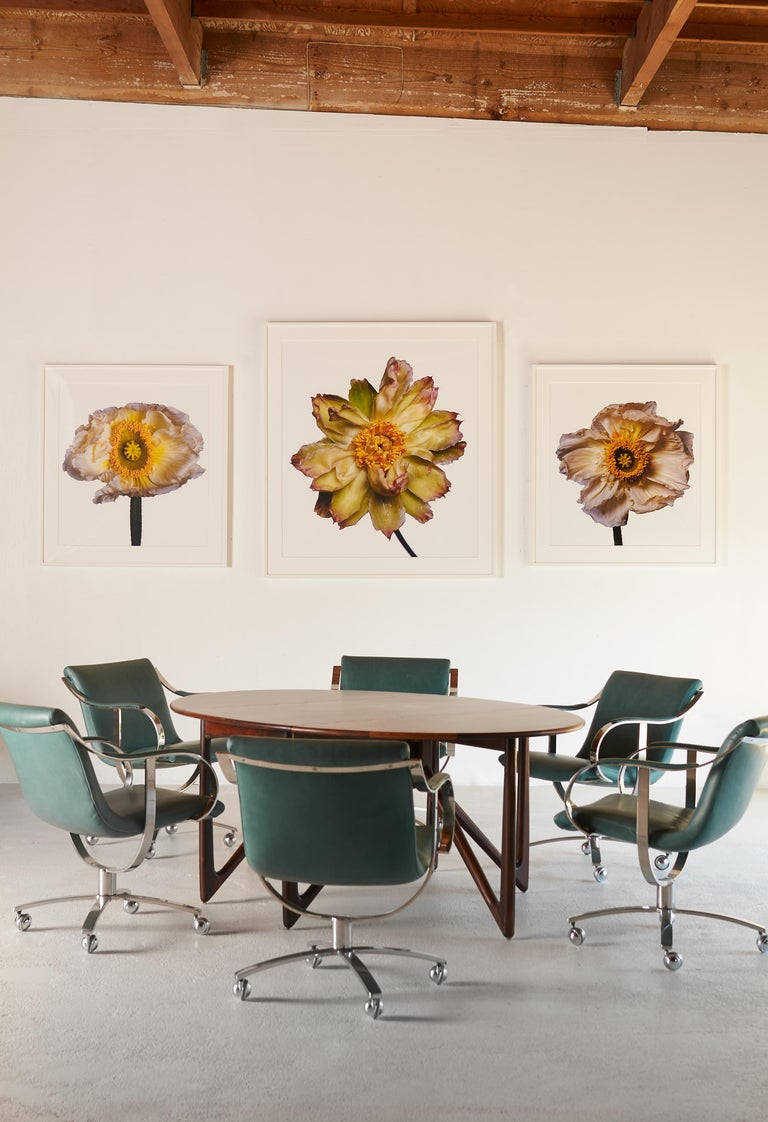 Contemporary Green Lotus Peony by Michael Zeppetello For Sale