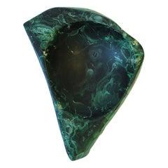 Green Malachite Desk Vessel or Jewelry Dish