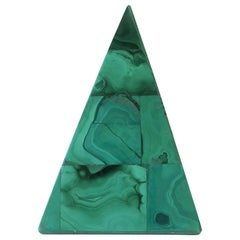Green Malachite Pyramid