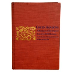 Green Mansions A Romance of the Tropical Forest, First Edition Thus