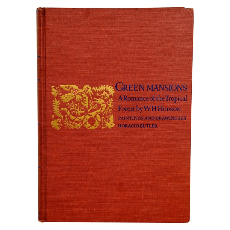 Green Mansions A Romance of the Tropical Forest, First Edition Thus For Sale