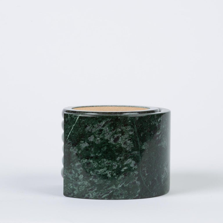 Green Marble Coaster Set For Sale At 1stdibs