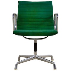 Green Office Armchair by Charles &Ray Eames for Herman Miller ICF, 1960s
