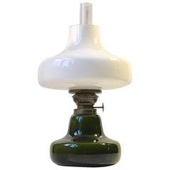 Green Oline Oil Table Lamp from Fog & Mørup, Denmark, 1960s