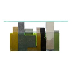 GREEN POMPEII, Limited Edition Console by Georges Amatoury Studio