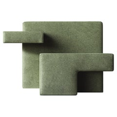 Green Primitive Armchair, Designed by Studio Nucleo, Made in Italy