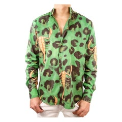 Green scorpion shirt NWOT