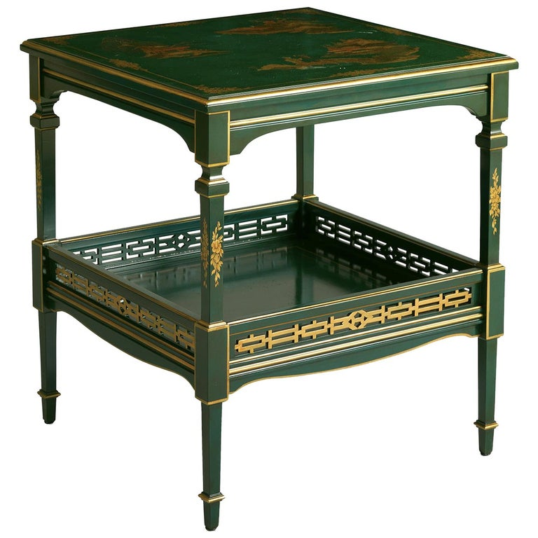 Green Side Table For Sale