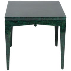 Green Side Table Pilati Design