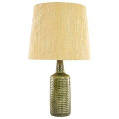 Green Table Lamp Model DL/30 by Annelise and Per Linnemann-Schmidt, 1960s