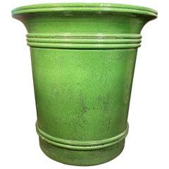 Green Terracotta Urn